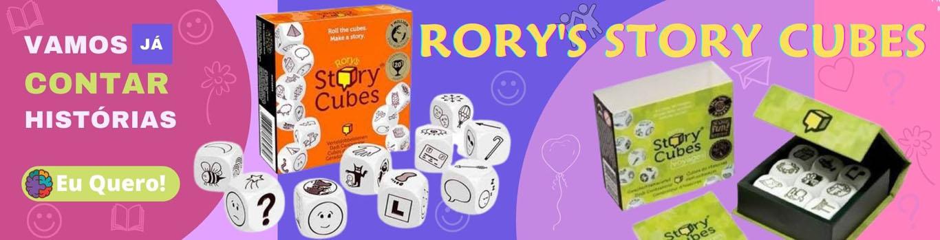 Rory's Story Cubes - Galápagos - Jogos de Imaginação