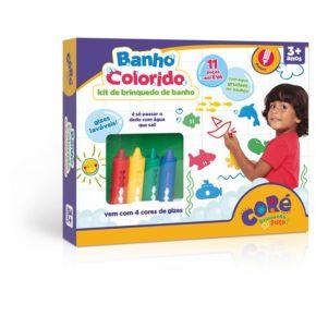 Banho Colorido - Kit de Brinquedo de Banho - Coré