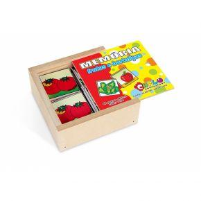 Jogo da Memória - Frutas e Hortaliças - Carlu