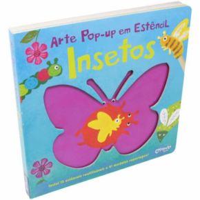 Livro de Arte Pop-Up em Estêncil - Insetos - Ed. Catapulta