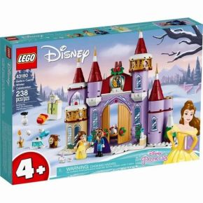 Celebração de Inverno no Castelo da Bela - LEGO Disney