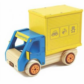 Coleção Carrinhos - Caminhão Baú - NewArt