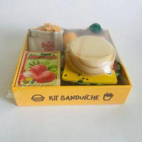 Coleção Comidinhas - Kit Sanduíche - NewArt