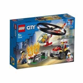 Combate ao Fogo com Helicóptero - LEGO City