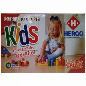 Desafio das Cores Kids - Hergg Brinquedos