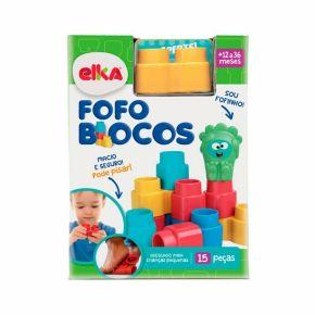 Fofo Blocos - 15 Peças - Elka