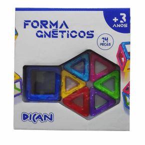 Formagnéticos - 14 Peças - Dican