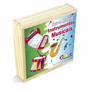 Jogo da Memória Instrumentos Musicais - Carlu