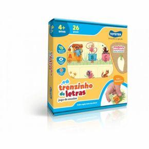 Jogo de Encaixe - Trenzinho de Letras - Toyster