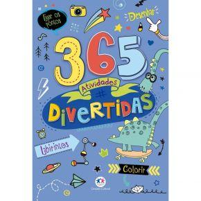 Livro - 365 Atividades Divertidas - ED. Ciranda Cultural