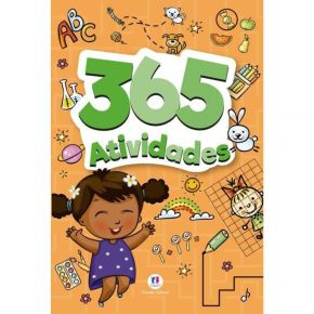 Livro - 365 Atividades (Laranja) -Ed. Ciranda Cultural