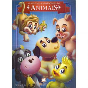 Livro - As Mais Belas Histórias De Animais - Ed. Blu