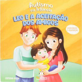 Livro - Autismo na Infância - Leo e a Aceitação Dos Amigos - Ed. Blu