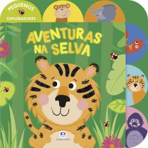 Livro - Aventuras na Selva - Ed. Ciranda Cultural