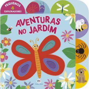 Livro - Aventuras no Jardim - Ed. Ciranda Cultural