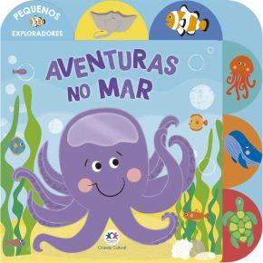Livro - Aventuras no Mar - Ed. Ciranda Cultural