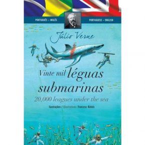 Livro Bilíngue - Vinte Mil Léguas Submarinas - Ed. Ciranda Cultural