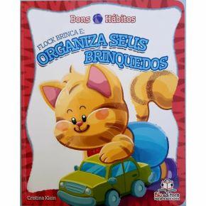 Livro - Bons Hábitos - Flock Brinca e Organiza Seus Brinquedos - Ed. Blu
