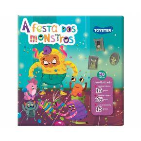 Livro Brinquedo - A Festa dos Monstros - Toyster