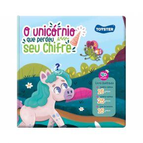 Livro Brinquedo - O Unicórnio que Perdeu seu Chifre - Toyster