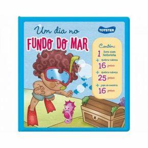 Livro Brinquedo - Um Dia no Fundo do Mar - Toyster