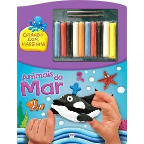 Livro - Criando Com Massinha - Animais do Mar - Ed. Ciranda Cultural
