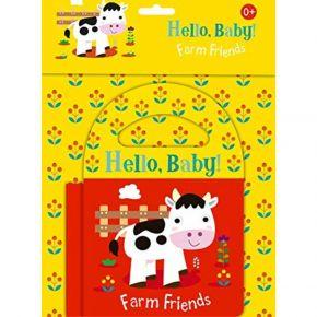 Livro de Banho - Hello, Baby - Farm Friends - Ed. Ciranda Cultural