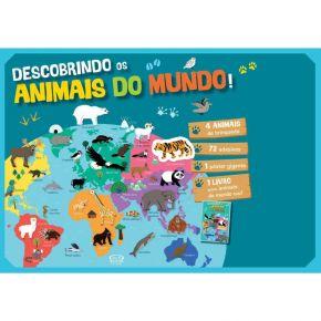 Livro - Descobrindo os Animais do Mundo - Ed. Vergara & Riba
