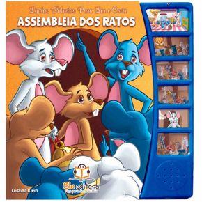 Livro Lindas Fábulas Para Ler e Ouvir - Assembleia dos Ratos - Ed. Blu