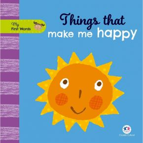 Livro - My First Words - Things That Make me Happy - Ed. Ciranda Cultural