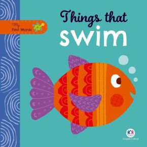 Livro - My First Words -  Things That Swim - Ed. Ciranda Cultural