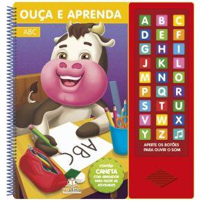 Livro - Ouça e Aprenda - ABC - Ed. Blu