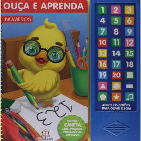 Livro - Ouça e Aprenda - Números - Ed. Blu