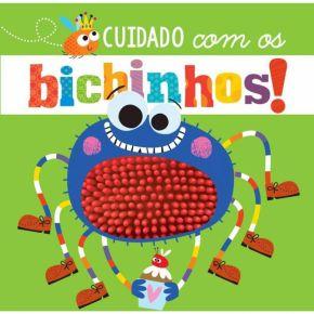 Livro Sensorial - Cuidado com os Bichinhos - Ed. Ciranda Cultural