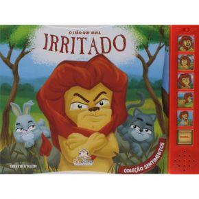 Livro Sonoro - O Leão que Vivia Irritado - Ed. Blu