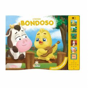 Livro Sonoro - O Pintinho Bondoso - Ed. Blu