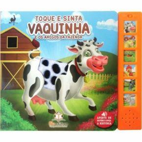 Livro Sonoro - Vaquinha e os Amigos da Fazenda - Ed. Blu