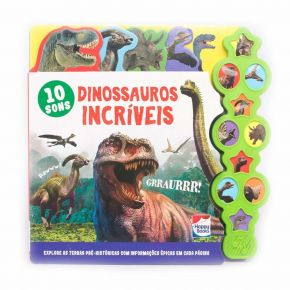 Livro-Supersons-Classicos-Com-Abas-Dinossauros-Incriveis-Happy-Books-www.bigcerebro.com.br