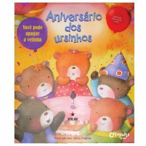 Livro - Aniversário dos Ursinhos - Ed. Catapulta