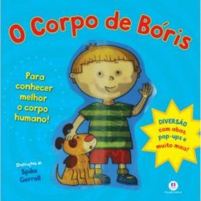 Livro - O Corpo de Bóris - Ed. Ciranda Cultural