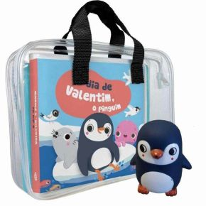 Livro de Banho - O Dia de Valentim, o Pinguim - Ed. Catapulta