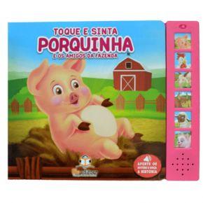 Livro Sonoro - Porquinha e os Amigos da Fazenda - Ed. Blu