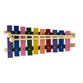 Metalofone Colorido 10 Teclas - Vibratom