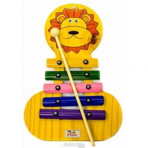 Metalofone Leão Colorido - Vibratom