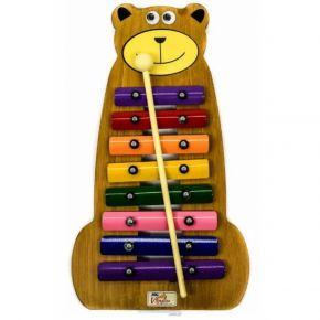Metalofone Urso Colorido - Vibratom