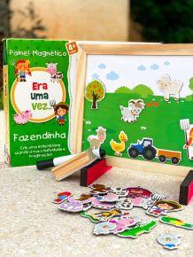 Painel-Magnetico-Era-Uma-Vez-Fazendinha-Bate-Bumbo-compre-agora-www.bigcerebro.com.br