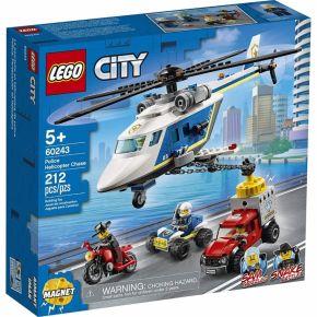 Perseguição Policial de Helicóptero - LEGO City