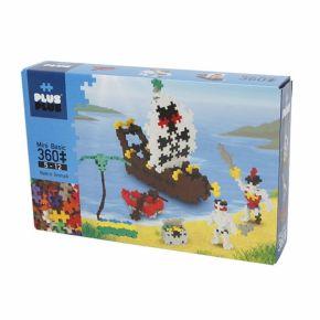 Plus-Plus Mini Basic Pirates - 360 Peças