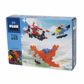 Plus-Plus Mini Basic Planes - 170 Peças