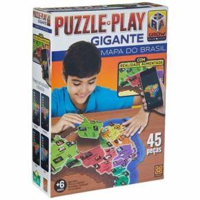 Puzzle Play Gigante Mapa do Brasil - Grow